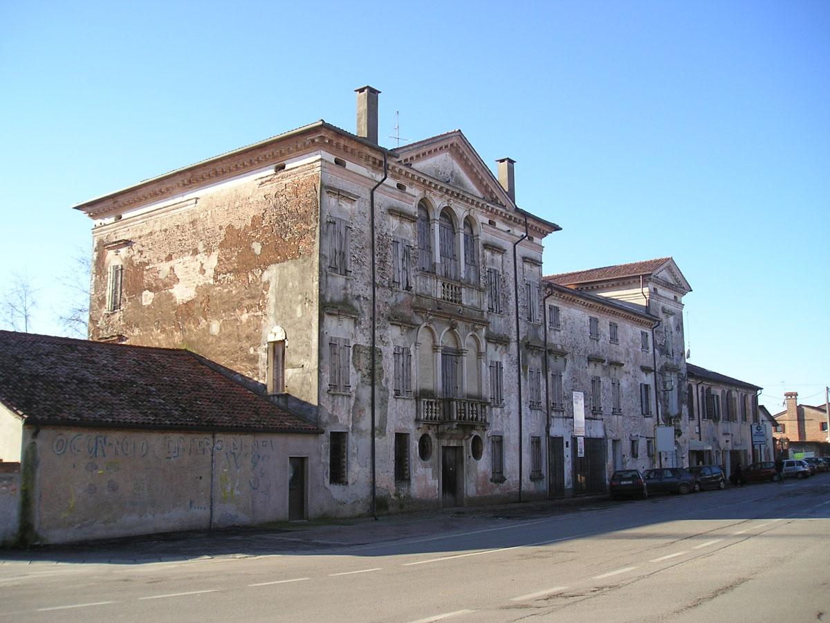 Villa Ravagnin: stato di fatto